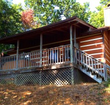 Log cabin rental near Gatlinburg and Pigeon Forge