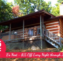 Gatlinburg Cabin Last Minute Deal