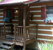 1 Bedroom Romantic Cabin near Gatlinburg