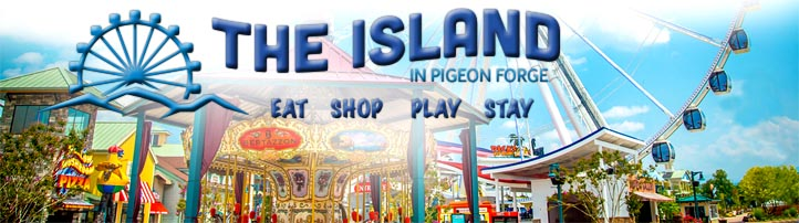 Pigeon Forge Restaurants at The Island