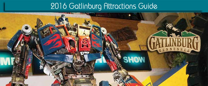 2016 Guide to Attractions in Gatlinburg