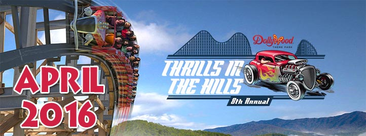 Thrills in the Hills at Dollywood April 2016