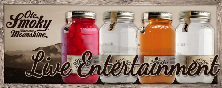 Live Entertainment at Ole Smoky Moonshine Pigeon Forge Island