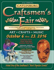 Gatlinburg Fall Craft Fair 2016