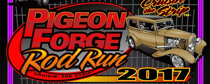 Pigeon Forge Car Shows 2017 - Rod Run, Shades of the Past, Jeep Invasion