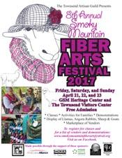 Townsend TN Spring Fiber Arts Festival