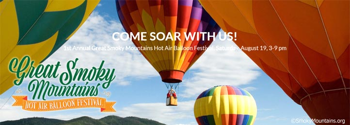 Great Smoky Mountains Hot Air Balloon Festival Townsend TN