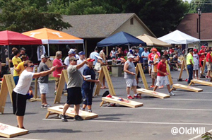 Old Mill Square Pigeon Forge Annual Cornhole Tournament