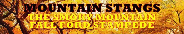 Smoky Mountain Fall Ford Stampede | Pigeon Forge Cabin Rentals