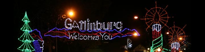 January 2018 Christmas Lights Tours in Gatlinburg Pigeon Forge Sevierville