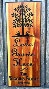 Love Grows Here Mothers Day Gift