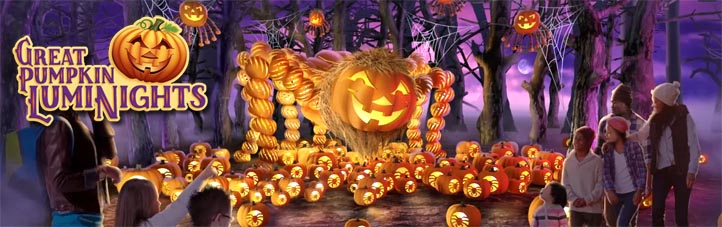 Great Pumpkin Luminights Harvest Festival Southern Gospel Jubilee at Dollywood TN