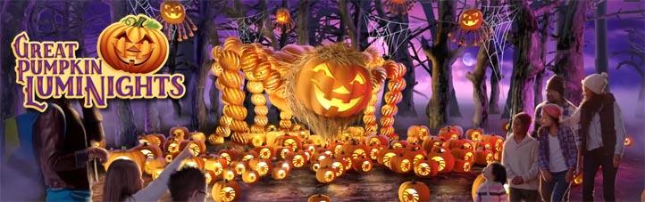 Great Pumpkin Luminights Harvest Festival Southern Gospel Jubilee at Dollywood TN
