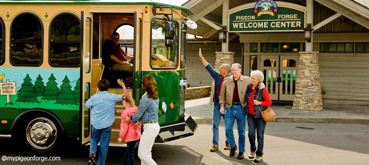 Pigeon Forge Trolley - Trolley Rides in Pigeon Forge