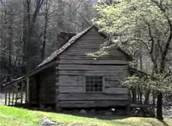 Bud Ogle Cabin at Roaring Fork Nature Trail