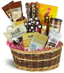 Chocolate Lovers Gift Basket