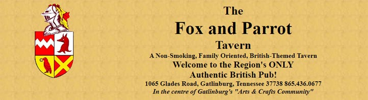 Fox & Parrot Tavern Gatlinburg Restaurant