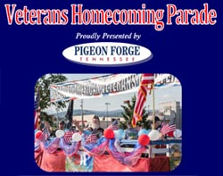 Pigeon Forge Salute to Veterans Parade