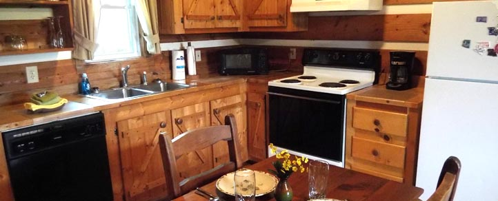 Easy Vacation Meals in Cabin with Kitchen