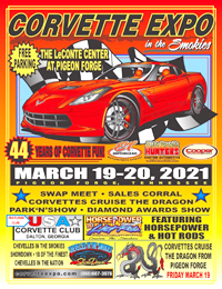Corvette Expo and Horse Power and Hot Rods Car Shows