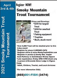 Spring and Fall Trout Fishing Tournaments in the Smokies