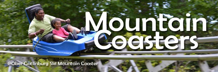 Smoky Mountain Coasters in Gatlinburg, Wears Valley and Pigeon Forge