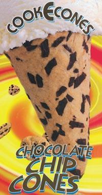 Kountry Kreamery Ice Cream Shop Cookie Cones