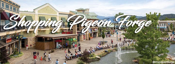 Pigeon Forge Shopping Centers and Strip Malls