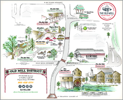Old Mill District Map